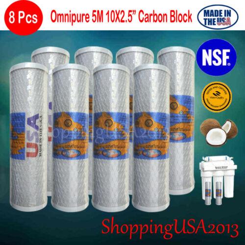 Omnipure ELF XL 1M 15x4 Diameter XL ELF 1 Micron Carbon Block