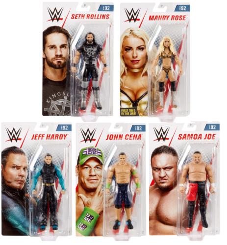 Brand New Basic Series 92 WWE Figures Sealed Mattel