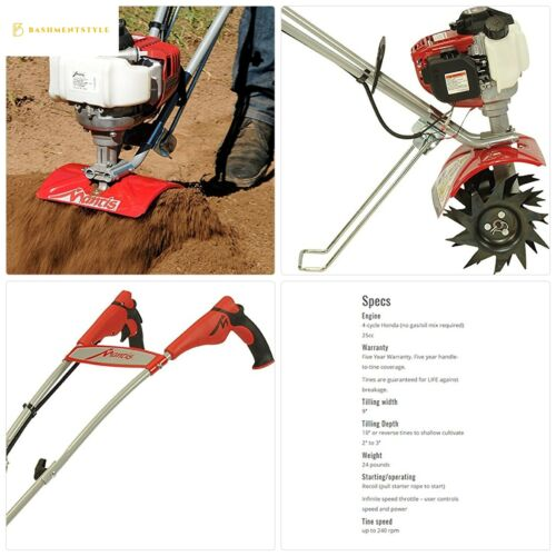 Schiller Grounds Care Mantis 4-Cycle Tiller Cultivator 7940