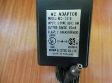 7.5V AC Adapter For Anoma AD-8730 AD 8730 P//N A0660140 Switching Power Charger