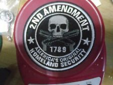 Iron OnSilver Sig Sauer 2nd Amendment Patch 3.0 Inch