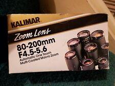 NOS Vintage Kalimar Japan Kali-Case Model PB19 For Super 8 Camera K2119 NEW  I2