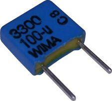 WIMA MKS4 1uF 2pcs 1µF 400V 5/% pich:27.5mm Polyester Capacitor