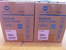 New Genuine Konica Minolta Bizhub C3110 C3100P Cyan Toner TNP50C A0X5434