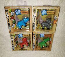Stickbot Safari Pets x4 nouveau