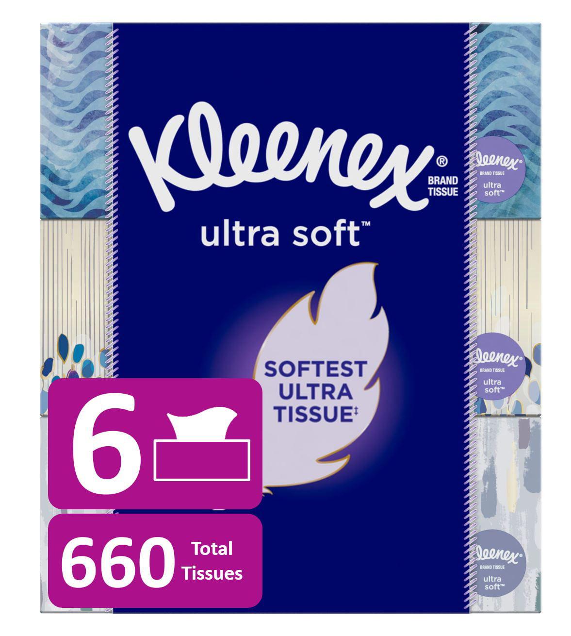 Total Of 648 Tissu Kleenex White Facial Tissue 72 Pack Of 9 Tissue Each Pocket
