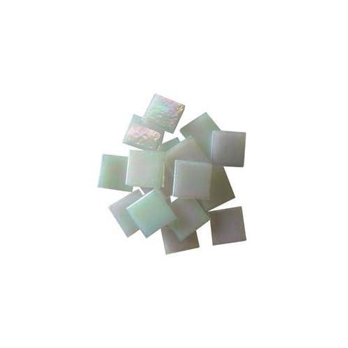 T299 8 OZ 8-Ounce Jennifers Mosaics White 3//4-Inch Iridized Venetian Style Glass Mosaic Tile