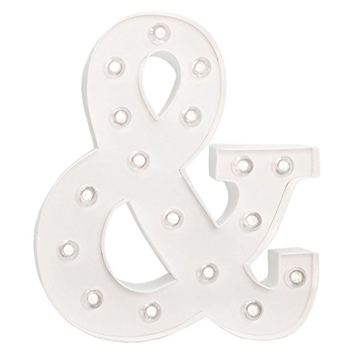 American Crafts Heidi Swapp 10 Inch Marquee Letters Ampersand Symbol Buy Products Online With Ubuy Qatar In Affordable Prices B01bej4o5w