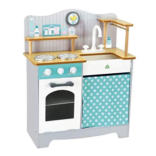 Buy مركز التعلم المبكر مطبخ خشبي كلاسيكي Online In Qatar B07k1yj69r
