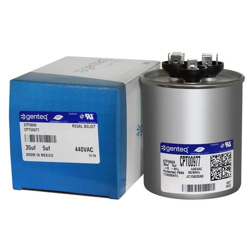 Buy 97F9899 - GE OEM Upgraded Replacement Round Capacitor 35 + 5 uf