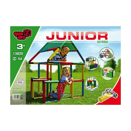 Quadro | Junior | Giant Construction KIT | Climbing Toy | Large Scale  Building Set