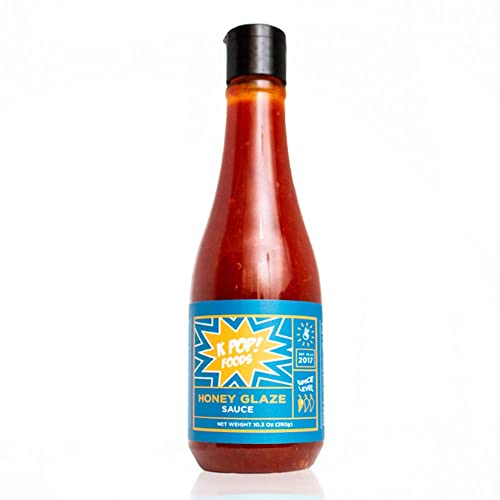KPOP Honey Glaze Sauce - Sweet Korean BBQ Sauce (Using Authentic Gochujang  Sweet Chili Sauce and Hot Honey), Squeezable Bottle, 10 3 oz (1-Pack) from