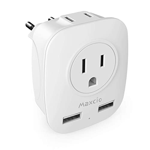 Electricity Travel Adapter Type C Wall Plug for Europe European Plugs