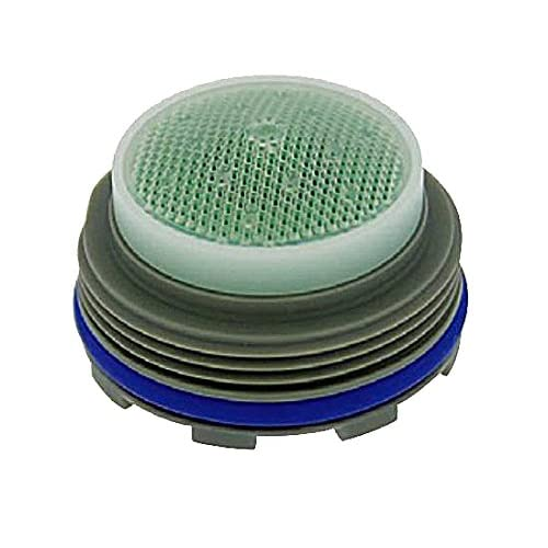 Pack of 6 Green Dome Plastic Pack of 6 1.5 GPM Tiny Junior Size 0.553 Height Neoperl 13 0070 2 Economy Flow Cache Perlator HC Aerator Honeycomb Screen 0.553 Height M18.5 x 1 Threads Aerated Stream