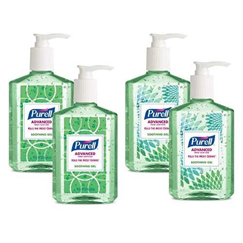 Gojo 9605 24 24 Per Case Purell Hand Sanitizer 4 6 X 6 X 9 2 In