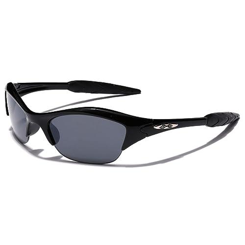 Sunglasses Boys Half Frame Sports Kids Teen Baseball Cycling Performance Glasses