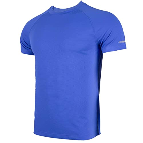 Mens Bear Quick Dry Athletic Shirts Short Sleeve Dry Fit Casual Workwear