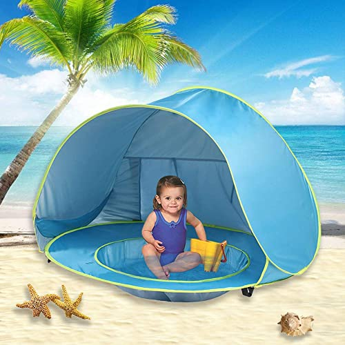 Deluxe lightweight Toddlers tent with carrying bag Thermalabs Pluto Baby Pink Beach Tent: An amazing accessory for your kids comfort From Wind /& Rain Keep Your Baby Away From the Heat of the Sun