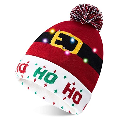 SincerityFirst Calf Beanie Hat Cuffed Slouchy Skull Knitted Hat Fashion