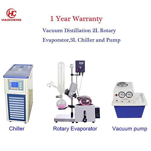 1 Year Warranty New 110V 5L Rotary Evaporator RotoVap RE-501-180/°C