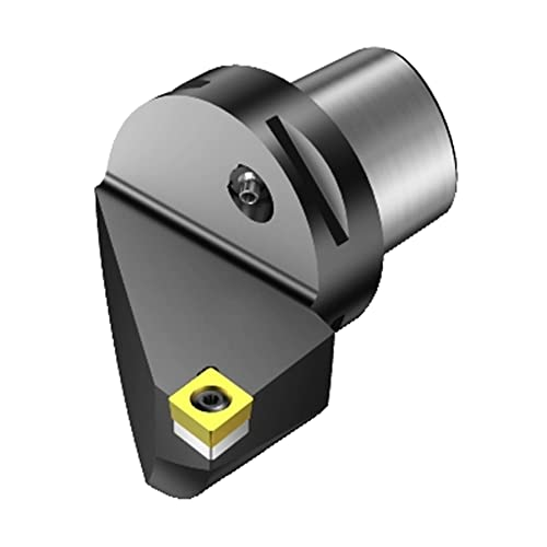 Lever Lock Sandvik Coromant PSBNL 1616H 09 Turning Insert Holder 16mm Width x 16mm Height Shank 100mm Length x 13mm Width Square Shank Steel Left Hand External SNMG 322 Insert Size