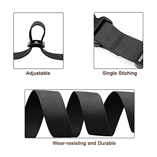 4-Pack 1 Wide - 40 Long, Red MAGARROW 40 60 Strap Buckle Packing Straps Adjustable 1-Inch Belt