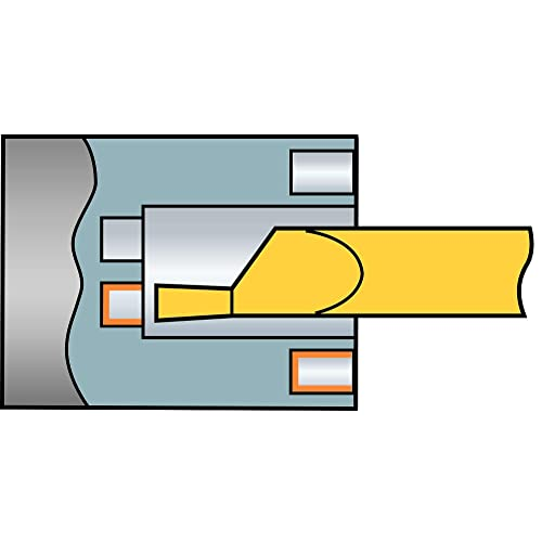 5mm CuttingWidth Neutral Cut Multi-Layer Coating 1 Cutting Edge Pack of 10 GC2135 Grade 50 Insert Seat Size 5G Geometry Sandvik Coromant T-Max Q-Cut Carbide Grooving Insert 0.0157 Corner Radius N151.2-500-50-5G