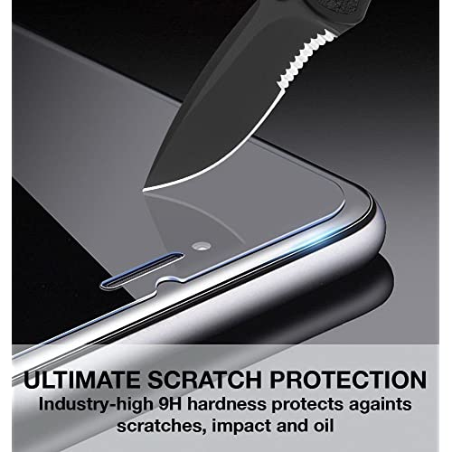 Scratch Resistant Ultra Clear Tempered Glass Screen Protector Film for Nokia Microsoft Lumia 650 Bear Village Screen Protector for Nokia Microsoft Lumia 650 1 Pack