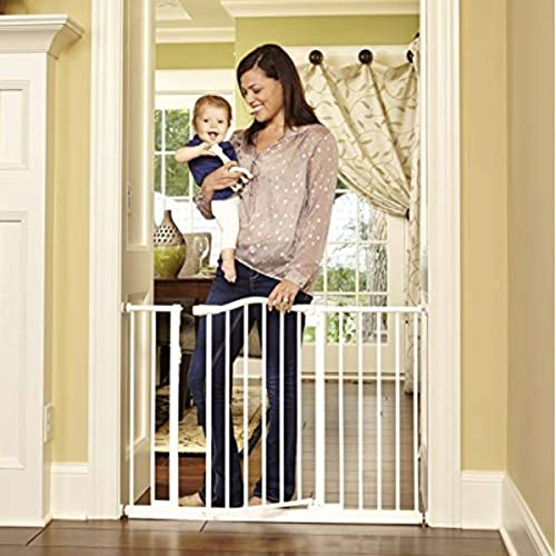 """North States 28.25/""""-38.25/"""" Wide Portico Arch Baby Gate Heavy-duty Dog 28.5/"""" tall"""