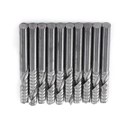 4mm Diameter x 4mm Shank x 14mm LOC x 50mm OAL 4 Flute FC18 Solid Carbide Radius End Mill Fullerton Tool 92494