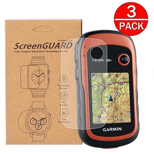 Anti Scratch 20x 32x Tempered Glass Screen Protector 30 Supershieldz for Garmin eTrex 10 Bubble Free 30x 20 22x 3 Pack