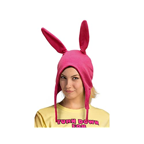 UK STOCK Family Matching Hat Bob/'s Burgers Louise Ears Cosplay Pink hat Licensed