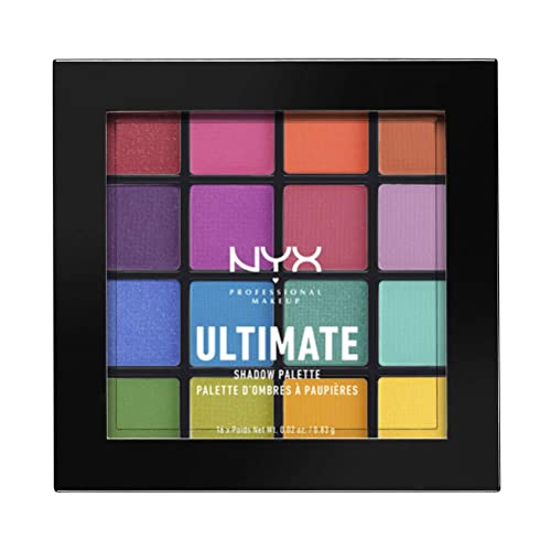 NYX Ultimate Eyes Shadow Palette Brights   Buy Products Online