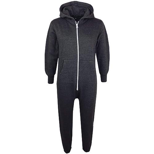 Hawiton Kids Onesies Fleece Onesie Jumpsuit for Girls Boys Supersoft Pyjamas 3-14 Years