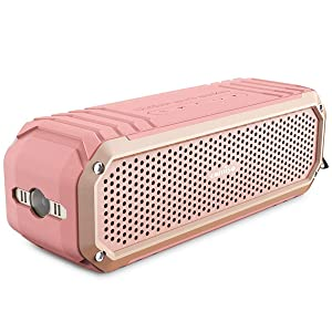 01bf6059b COMISO Bluetooth Speakers with Lights, Loud Dual Driver Wireless Bluetooth  Speaker with HD Audio and