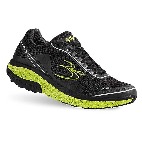 Gravity Defyer Women/'s G-Defy Ion Black Comfortable Pain Relief Shoes Wide