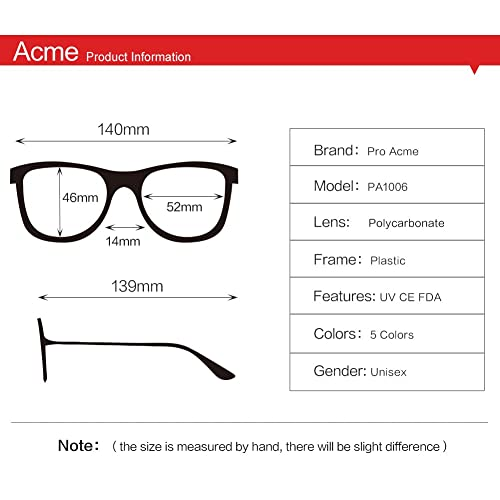 Hicdaw 3Sets Vintage Round Clear Glasses Non-Prescription Eyeglasses Frames for Women Men with Gift Box Screwdrivers Glasses
