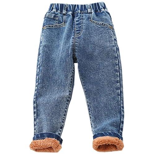 Ameyda Kids Fleece Lined Denim Jacket