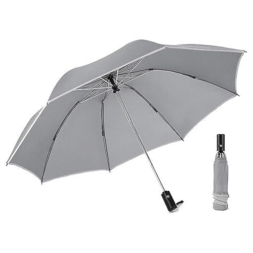 Portugal And America Flag Automatic Folding Umbrella Sunshade Tri-fold Rain Umbrella