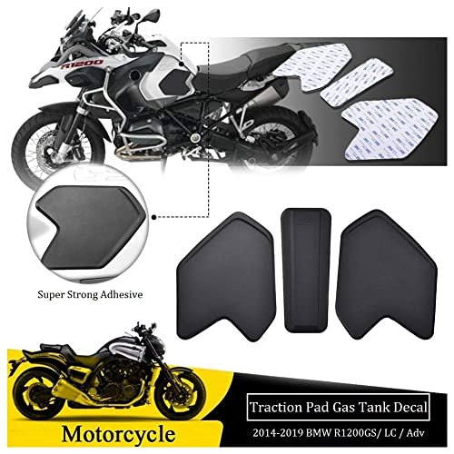 COPART Motorcycle Gas Tank Traction Pads Fuel Tank Grips Side Stickers Knee Grips Protectors Decal for Kawasaki ZX6R ZX-6R 2009-2015