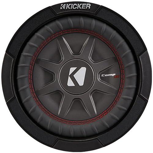 Kicker 43TCWRT84 CompRT8 8-inch 4-Ohm Bundle Subwoofer in Thin Profile Enclosure 30cm