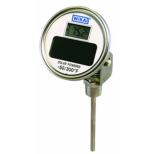 5 Dial Stainless Steel 50//500 Degree Fahrenheitahrenheit and 0//250 Deg Celsius Tel-Tru 42100209 Model Aa575R Resettable Bi-Metal Process Grade Thermometer 1//2 Npt Adjustable Angle Back Connection 0.250 Diameter x 2.5 Long 304Ss Stem +//- 1/% Full S