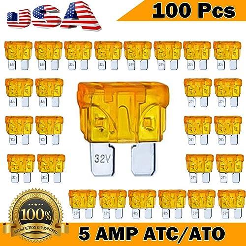 5 Pack 35 AMP ATC//ATO STANDARD Regular FUSE BLADE 35A CAR TRUCK BOAT MARINE RV