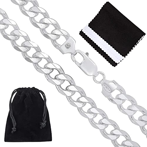 Microfiber Jewelry Polishing Cloth The Bling Factory Durable Stainless Steel 3mm Rounded Box Link Chain Necklace