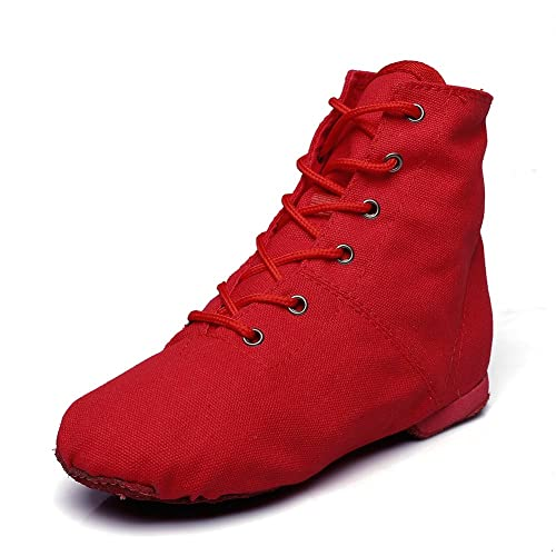 MSMAX Kids Dance Boots Professional Performa Jazz Party Shoe