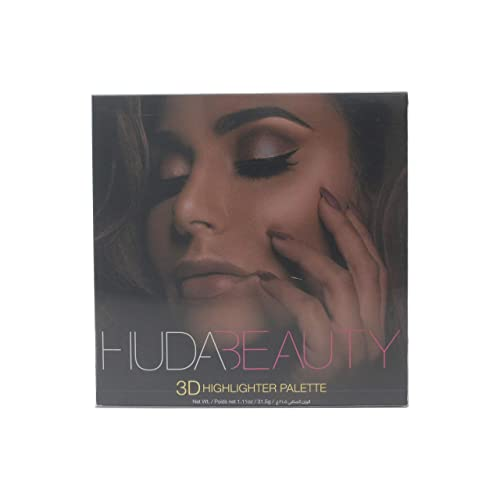 Buy Huda Beauty Golden Sands 3D Edition Highlighter Palette 1.11oz