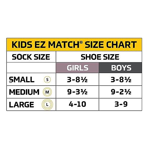 Gold Toe Boys/' Little Patterned Crew Socks 3-Pack Dinosaurs Medium Shoe Size ...