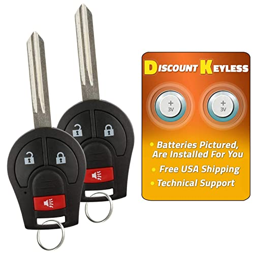2 For 98-08 Chrysler Jeep Dodge Rubber Keyless Entry Remote Key Fob Skin Cover Protector 4btn LX8FZV 6955750