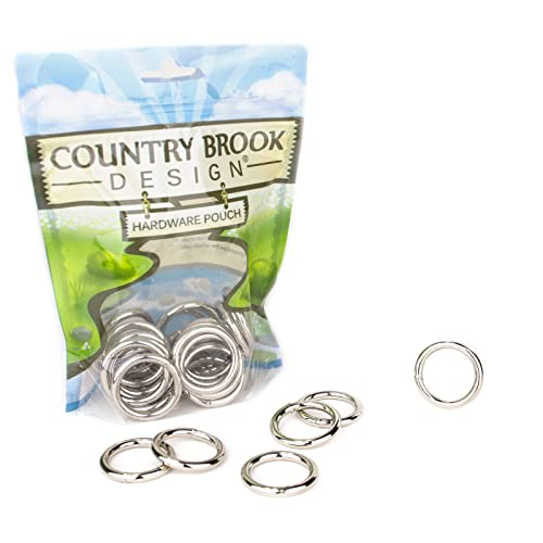 100 Country Brook Design® 3//4 Inch Welded Heavy O-Rings