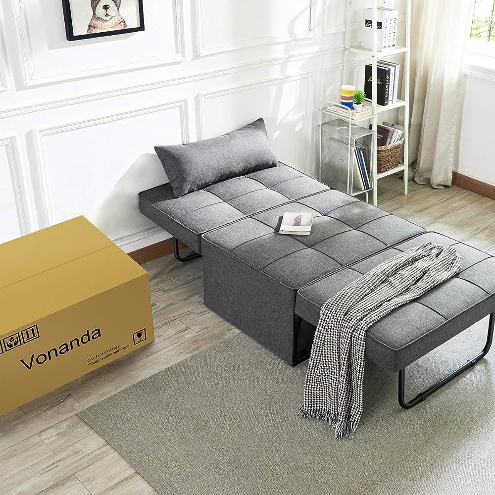 Buy Vonanda Sofa Bed, Convertible Chair 4 in 1 Multi ...